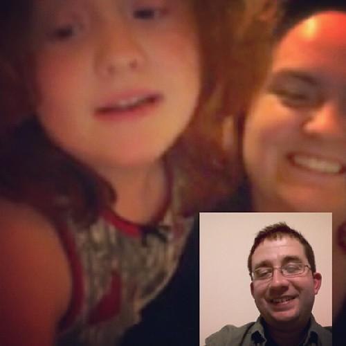 On @Skype w/my #girls back home