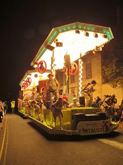 Fartbusters -Wells Carnival (sueeverettuk) Tags: uk carnival costumes england people canon lights wells somerset parade artists bulbs float carnivalclub sueeverett severett newmarketcarnivalclub canonpowershotsx50 wellscarnival2013 fartbusters
