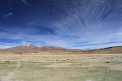 Uturuncu, seen from Quetena