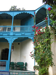 Le jardin des Biehn (carlossg) Tags: garden restaurant jardin morocco fez maroc medina fes riad biehn fesboulemane
