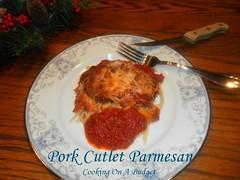 pork cutlet parmesan (Patty Anderson) Tags: food blog recipes entrees