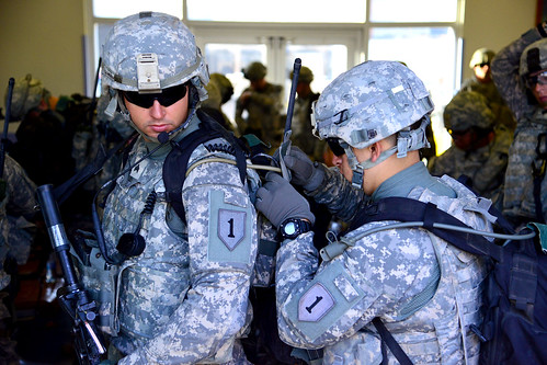U.S. Soldiers support South Sudan evacuation