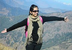 friend (Sougata2013) Tags: woman india nature girl beauty smile lady fun friend view indian smiley enjoy himachal himachalpradesh prashar