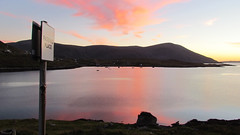 A Passing Shepherd's Delight (looking back to Ardhasaig, North Harris) - Pippa Gardner
