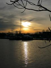 Sonnenuntergang (olli 72) Tags: deutschland weener niedersachsen