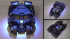 LEGO Ideas Batman Tumbler MOC (buggyirk) Tags: dark movie book dc comic lego brothers nolan christopher wb warner batman knight minifig batmobile bros begins rises minifigure the moc ucs tumbler cuusoo buggyirk
