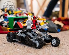 Lego #2 (earladams15) Tags: toy lego batman batmobile deadpool