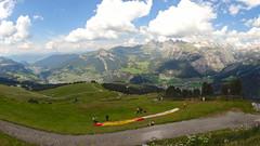 Panorama from Ciampinoi. Selva Wolkenstein. Selva Val Gardena. Dolomiti. Italy (elsa11) Tags: panorama grden alps paragliding alpen dolomites dolomiti paragliders sdtirol valgardena dolomieten ciampinoi selvadivalgardena selvavalgardena stchristina selvawolkenstein