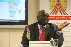 Amb. Mamadou Tangara (2) PR of Gambia to the UN