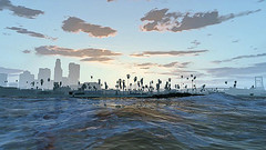 LosSantos-fromBoat (Pixel Within) Tags: auto california game la video screenshot graphics satire grand screen hollywood parody grab gta theft lossantos screenie vinewood