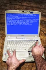 "58-365 ""Ctrl, Alt, Delete"" (Bob-Reid) Tags: windows computer pc control alt laptop bluescreenofdeath delete fujifilm ctrl x100s"