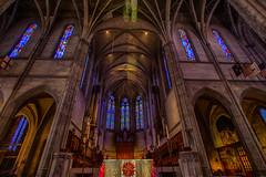 Grace Cathedral (Manzurur Rahman Khan) Tags: sanfrancisco california church unitedstates stainedglass hdr gracecathedral