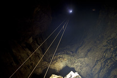 Gold Mine Dream Jump (szimiddt) Tags: abandoned underground gold jump mine extreme dream rope exploration