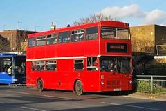 BIG8750, Egham 07/03/14 (MCW1987) Tags: bear london buses transport metrobus mcw mk1 m1332 c332buv big8750