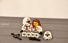 Troopers in love (ibomet) Tags: trooper love boyfriend starwars girlfriend power lego space darkside sith clonetrooper republictrooper