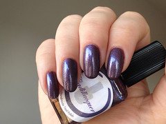 Cadillacquer Say My Name (rittkin) Tags: blue purple nail polish nails manicure nailpolish shimmer holographic holo indiepolish cadillacquer