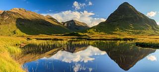 Reflection pool, Glencoe, Scotland