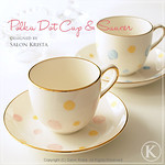 "Polka Dot Cup & Saucer <a style=""margin-left:10px; font-size:0.8em;"" href=""http://www.flickr.com/photos/94066595@N05/13719179255/"" target=""_blank"">@flickr</a>"