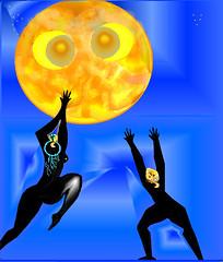 Féminité de la lune, z