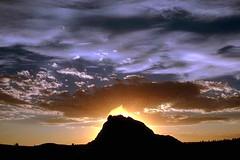Sunset, Yellowstone National Park, Wyoming (Vern Krutein) Tags: travel usa nature landscape scenery natural yellowstonenationalpark wilderness scenes scenics geoform