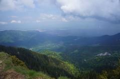 Brașovul văzut de pe Piatra Mare