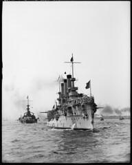 brooklyn and mass (lilyputins) Tags: brooklyn massachusetts battleship cruiser warship bb2 spanishamericanwar 1898 ca3