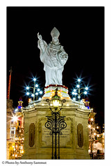 he monument to St Nicholas (Tony Sammut) Tags: longexposure monument statue feast canon lights flickr malta stnicholas afterdark thelook autofocus siggiewi bulbmode canonef24105mmf4lisusm beautifulcapture vivalavida canoniani villagefeast simplysuperb canoneos550d blinkagain