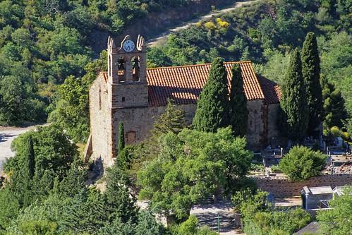 Castelnou - L'église Santa Maria del Mercadal