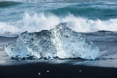 Ice on The Beach (p.fabian) Tags: ice island iceland islandia eis hielo  austurland hornafjrur
