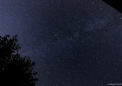 Milky Way & Meteor 20 July 2015 (twinklespinalot) Tags: astrophotography astronomy 1022mm meteor summermilkyway canoneos700d