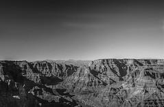 Grand Canyon - West Rim (ryunonushi) Tags: blackandwhite outdoors grandcanyon coloradoriver monocrome