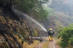 Port Hills Fire (threechairs) Tags: porthillsfire port hills fire firefighters smoke canterbury christchurch newzealand flames burn destruction evacuation helicopters victoriapark canterburynz