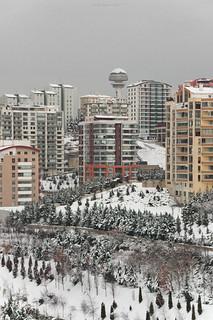 Winter colors in Ankara