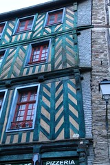Timbered house (Tomek Mrugalski) Tags: house france houses rennes timbered brittany