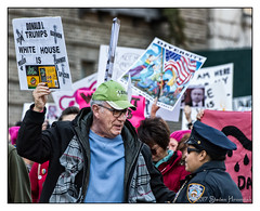 Trump's White House is Chock Full O' Nuts (GAPHIKER) Tags: trump presidentsday notmypresident 45th dumptrump resist fakepresident bannon immigrants impeach newyorkcity columbuscircle nyc centralpark clouds chockfullonuts miller conway spicer whitehouse diversity