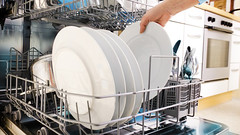 Dishwasher Babylon Services....https://goo.gl/Z8Vbji (info.trueblues) Tags: adult blue casual caucasian cleaning closeup clothing dishes dishware dishwasher domestic everyday female hand holding home housecleaning housework human hygiene indoors inserting interior kitchen life one part people person plate routine scenes washing women young