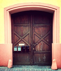 Door 26 (baer99) Tags: tor holz hdr iphone5 mammothfilter