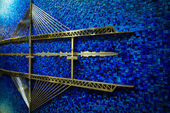 20130506--9 (seangregorcreative) Tags: bridge blue art mosaic tiles