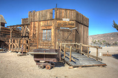 Pioneertown, CA 2012 (Spebak) Tags: california blue sky barn cacti skies socal highdesert western southerncalifornia movieset saloon oldwest pioneertown