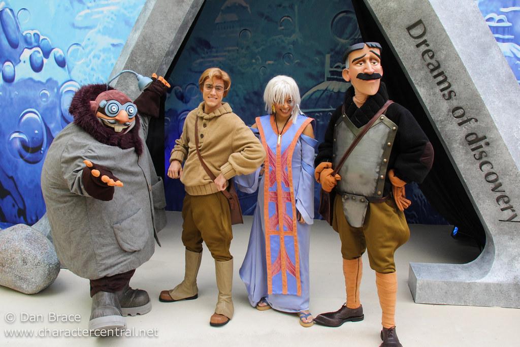 Disney Atlantis Characters