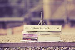 Livros. (Tas S. Bordignon) Tags: paris canon books torreeiffel livros eduardogaleano 60d mundodesofia livrodosabraos