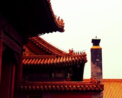 Forbidden City  (jasonlsraia) Tags: china beijing chinadigitaltimes forbiddencity emperor  palacemuseum 2013 roofcharms