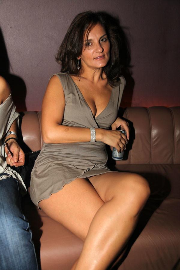 Mature women sitting upskirt necessary