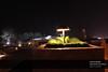 Beautiful Landscaping and lighting at Pakistan Monument, Islamabad, Pakistan (Old Shakar Parian) (Syed Tirmizi) Tags: pakistan islamabad shakarparian tirmizi