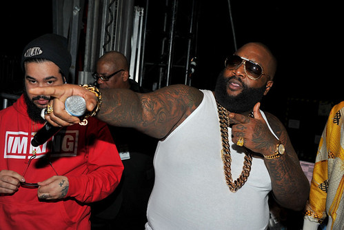 Video Rick Ross Reacts To DJ Khaled proposing to Nicki Minaj