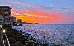 (AlessioRLoreti) Tags: sunset beach canon puerto san juan puertorico rico sanjuan s95