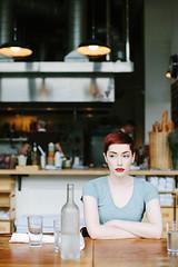 Clyde Common (Jade M. Sheldon) Tags: portrait portland restaurant pixie redhead pdx pnw jadesheldon endlesslyenraptured