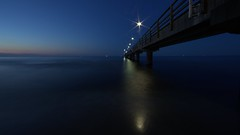 A Night at the pier (Peter.Samow) Tags: night nacht balticsea timeexposure ostsee usedom la