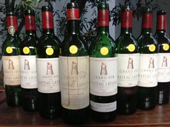 A night devoted solely to Chateau Latour