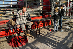 Rodeo Cowboys Woodstock Rodeo (sportsphoto rob) Tags: toronto ontario canada sports horizontal photo cowboy cattle image picture pic bull photograph rodeo bullriding saddle bullrider saddlebronc skeoch strrsh warkworthwesternweekend